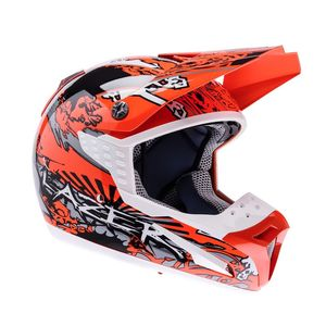 Casque cross SMX DIRTY 2017 Orange