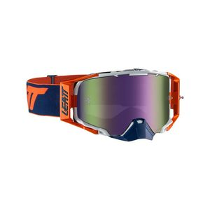 Masque BRILLE VELOCITY 6.5 IRIZ ORANGE/INK 2019 Orange/Bleu