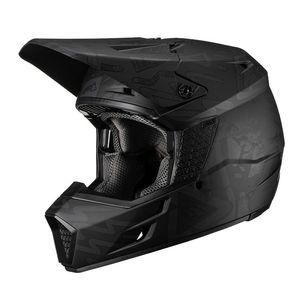 Casque cross GPX 3.5 V19.3 TRIBE NOIR 2019 Noir