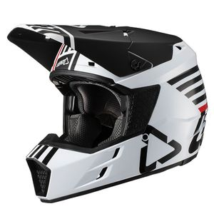 Casque cross GPX 3.5 V19.2 BLANC JUNIOR  Blanc