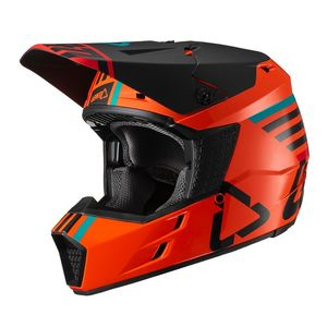 Casque cross GPX 3.5 V19.2 ORANGE JUNIOR  Orange/Noir