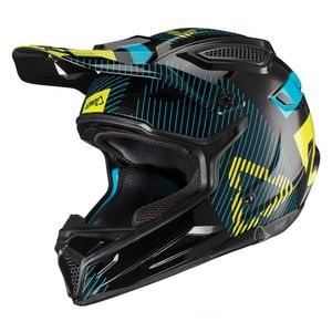 Casque cross GPX 4.5 V19.2 NOIR/LIME JUNIOR  Jaune/Noir