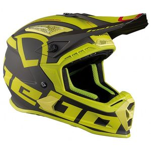 Casque cross FACTOR LIME 2020 Lime