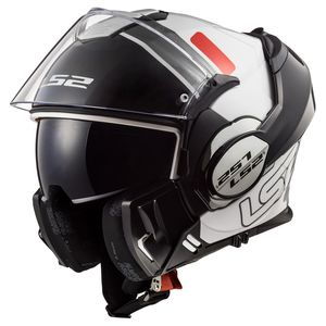 Casque FF399 - VALIANT - PROX  White / Black / Red
