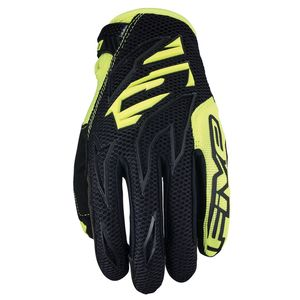 Gants cross MXF3 - BLACK FLUO YELLOW 2019 Jaune