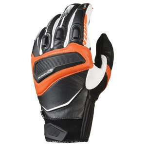 Gants OUTLAW  Noir/Blanc/Orange