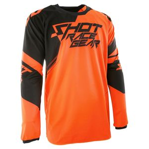 Maillot Cross Shot Destockage Contact Claw Neon Orange 2017
