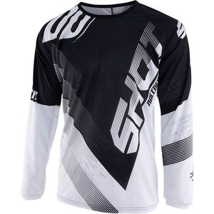 Maillot cross DEVO KID ULTIMATE - BLACK WHITE  Black White