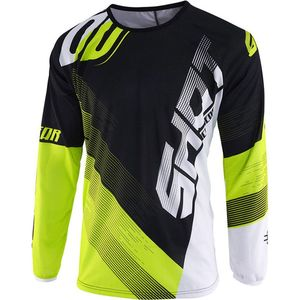 Maillot cross DEVO KID ULTIMATE - BLACK NEON YELLOW  Black Neon Yellow