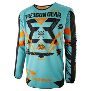 Maillot cross DEVO TROOPER MINT ORANGE ENFANT  2017 Vert/Orange