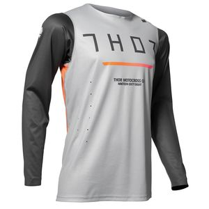 Maillot cross PRIME PRO - TREND - OFFROAD - CHARCOAL GRAY 2020 Charcoal Grey