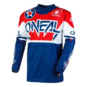 Maillot cross ELEMENT - WARHAWK - BLUE RED 2021 Blue/Red