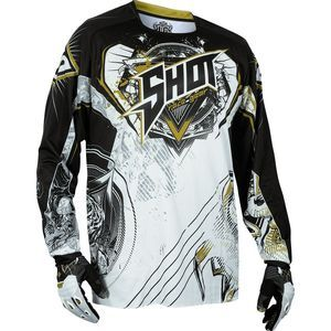 Maillot cross CONTACT LORD BLANC GOLD   Blanc/Gold