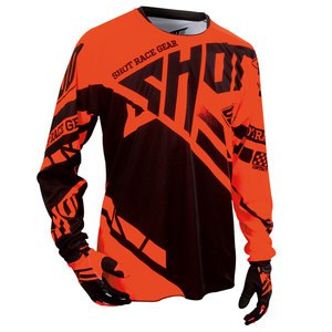 Maillot cross CONTACT RACEWAY JERSEY ORANGE  2016 Orange