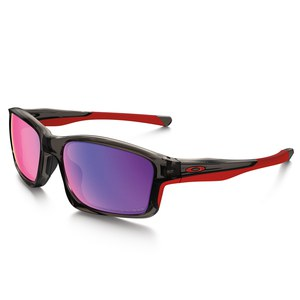 Lunettes de soleil CHAINLINK - GREY SMOKE - RED IRIDIUM POLARIZED  Gris