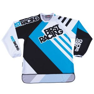 Maillot Cross First Racing Lite Chatterton Jersey Bleu