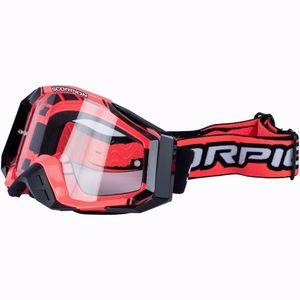 Masque cross NEON RED - BLACK 2019 Neon Red - Black
