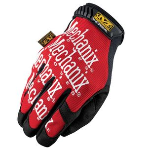 Gants d'atelier THE ORIGINAL  Noir/Rouge