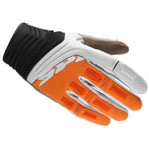 Gants cross MEGA-X 2016 Noir/Orange
