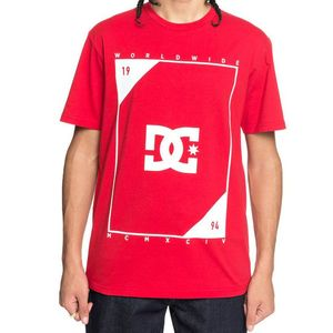 T-Shirt manches courtes MIDDLE THEORY  Red