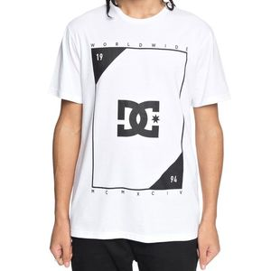T-Shirt manches courtes MIDDLE THEORY  White