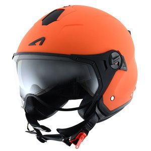 Casque MINIJET SPORT - MONOCOLOR - MATT  Orange mat