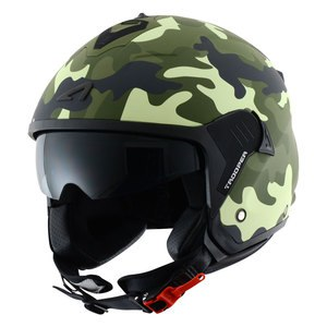 Casque Astone Minijet Trooper Graphic Exclusive Camo Matt