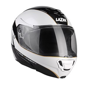 Casque MONACO EVO WINDOW PURE CARBON  Blanc/Noir
