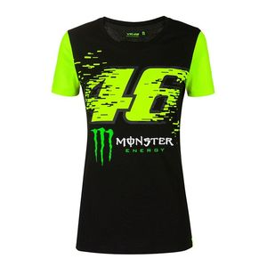 T-Shirt manches courtes VR46 - MONZA MONSTER WOMAN 2020  Black