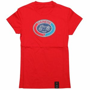 T-Shirt manches courtes MOTO 72 LADY  Red