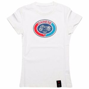 T-Shirt manches courtes MOTO 72 LADY  White
