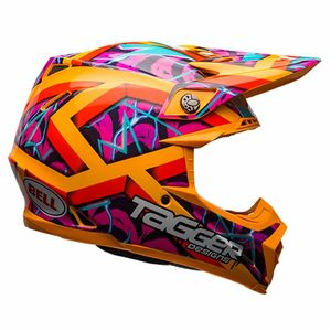 Casque cross MOTO-9 - TAGGER ORANGE - SERIE LIMITEE - 2017 Orange