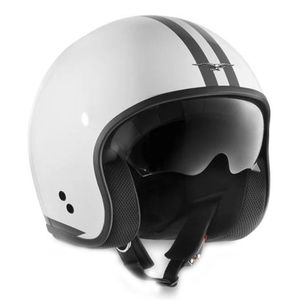 Casque STRIPES  Blanc