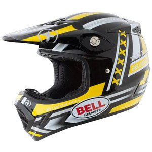 Casque cross MOTO 8K FACTORY 2017 Noir/Jaune