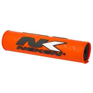 Mousse de guidon 24.5cm  orange fluo