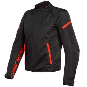 Blouson BORA AIR TEX  Black/Fluo Red