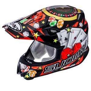 Casque cross MR JUMP - JACKPOT - BLACK 2021 Noir