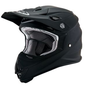 Casque cross MR JUMP - PLAIN - MATT BLACK 2021 Noir mat
