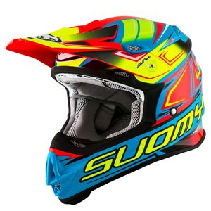 Casque cross MR JUMP - START - CYAN FUXIA 2019 Cyan Fuxia