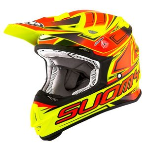Casque cross MR JUMP - START - YELLOW RED 2019 Jaune/Rouge