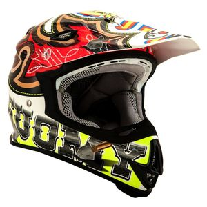 Casque cross MR JUMP - WEST 2021 Rouge