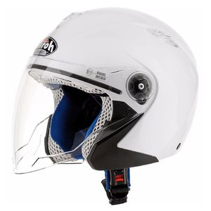 Casque MR JET - BABY  Blanc