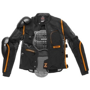 Gilet de protection MULTITECH ARMOR EVO  Noir/Orange