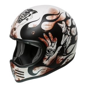 Casque MX - BD 8 BM  Multicolore