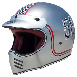 Casque Premier Mx Fl Chromed
