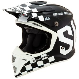 Casque cross MX SPEED MIPS - MASTER - BLACK WHITE 2021 Black White