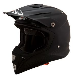Casque cross MX SPEED - PLAIN - MATT BLACK 2019 Matt Black