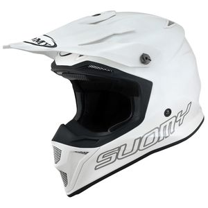 Casque cross MX SPEED PRO MIPS - PLAIN - WHITE 2021 Blanc