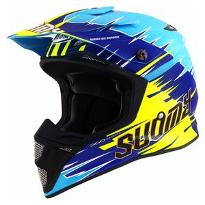 Casque cross MX SPEED MIPS - WARP - LIGHT BLUE 2021 Light Blue