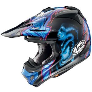 Casque Cross Arai Mx-v Barcia Noir 2018